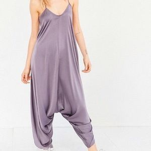 Urban Outfitters Satin Jumpsuit